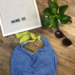 Lime Ricki- Blue Green Bathing Suit- Small